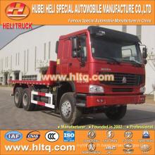 SINOTRUK 6x4 22tons camion plateau 336hp moteur diesel