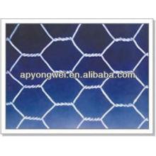 Malha de arame de ferro hexagonal galvanizado