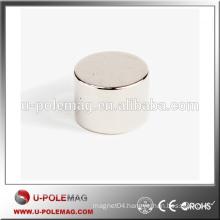 Cylinder Shape Ni Coated Neodymium Magnet