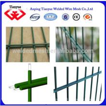 Grillage métallique à double clôture