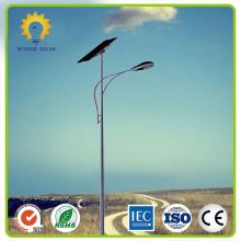 Luz de rua solar 60W com poste de montagem