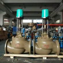 China hizo precio barato alta calidad igual porcentaje motorizado 3 vías válvula de control del regulador de gas