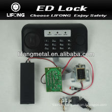 Electronic lock mechanism for security safety box