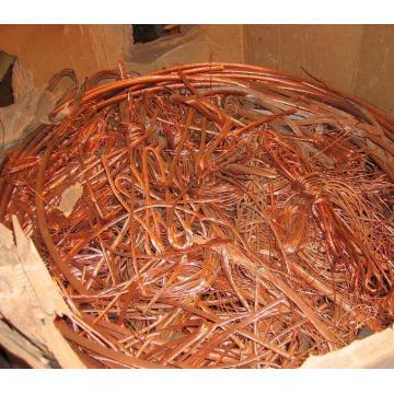 Vente de ferraille de cuivre / tonnel