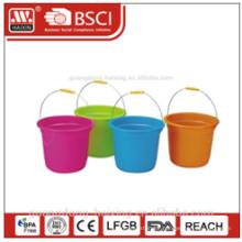 plastic bucket W/lid 8L/12L/17L