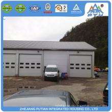 Alibaba hochwertigen neuen Typ Stahl Struktur Dach Prefab Garage-Kit
