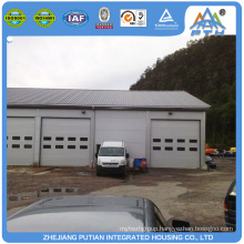 Alibaba high quality new type steel structure roof prefab garage kit