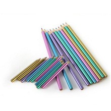 Metal Color Lead Art Pencil, Double Tip Color Pencil for Students and Kids