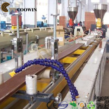 Decking WPC Profile Extrusion Line / PVC Madera Composite Plastic Extrusor