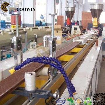 Террасная доска из ДПК линия Штранг-прессования профиля / PVC деревянная пластичная составная, Штрангпресс