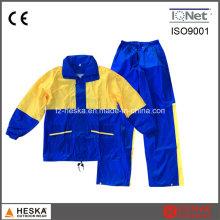 Enduit de pluie pas cher costume uniforme pluie PVC imperméable étanche