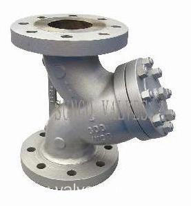 Cast Steel Y Type Strainer