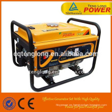 Chongqing factory 6.5kw 12 volt dc gasoline power small portable generator for sale