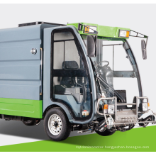 Pure electric high pressure cleaning vehicle