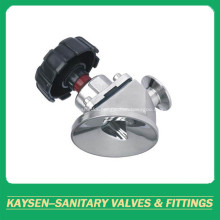 DIN Sanitary tank bottom diaphragm valve