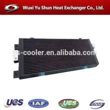 plant custom made aluminum bar&plate display heat exchanger
