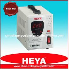 SDR-500VA Display Digital Tipo de relé Estabilizador / regulador de tensão