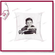 Taie d'oreiller Polyester sublimation en blanc