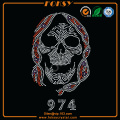 Skull wholesale iron on transfers for t shirts