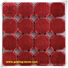 Buntes dekoratives / Metallvorhang-Ineinander greifen mit billigem Preis (ISO)
