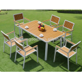 Best deals patio garden furniture poly wood aluminum table and chair