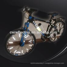 lueur dans le noir accessoires de rayons réfléchissants Bicycle