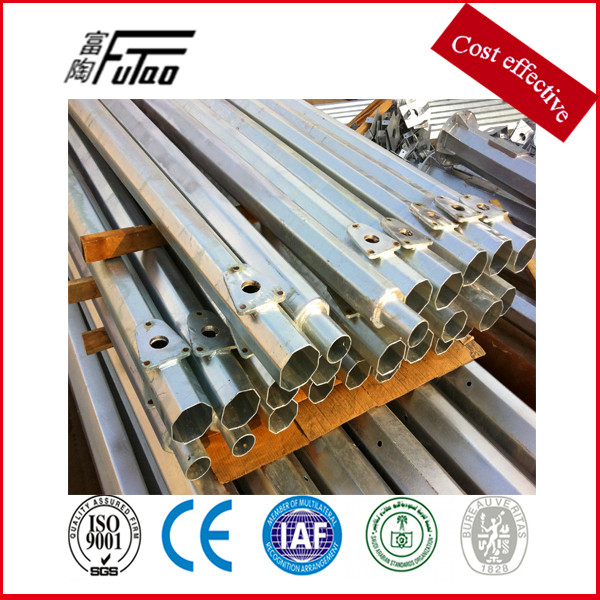 galvanized driveway steel light poles