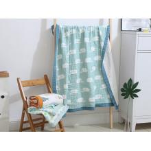 Cotton six-ply washable baby gauze bath towel