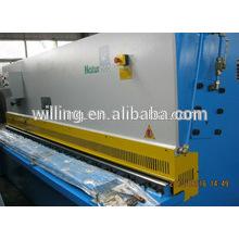 Máquina de cisalhamento de chapa de aço hidráulico