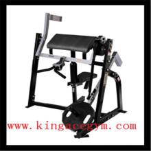 Equipo de gimnasio aprobado CE Bíceps sentado comercial