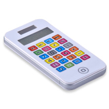 8 Digits Calculator with Color Button Keys