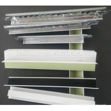 Plafond suspendu en té / grille pour panneau de gypse / rainure large bande / FUT