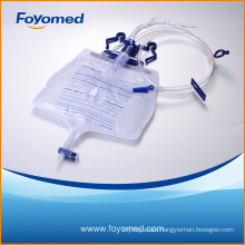 2015 CE, ISO Approved Hot-sale 2000ml Luxury Urine Bag