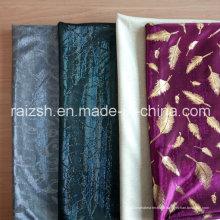Tissu de décoration Jacquard Silk Lurex pour gros
