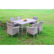 Garden Rattan Outdoor Wicker Dining Table and Chair