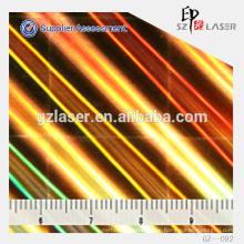 Ätzen Hologramm Nickel Schimmel Master für holographische Produkte