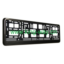 Carbon Fiber European License Plate Frame