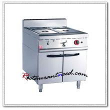K007 con calentador eléctrico o de gas Bain Marie para gabinete