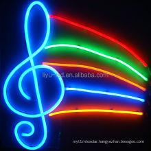 Custom waterproof flexible color changing led neon rope light,color changing led christmas lights