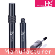plastic round black mascara package