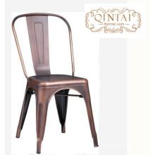 gute qualität großhandelspreis metall stabiles restaurant / cafe / loft stuhl