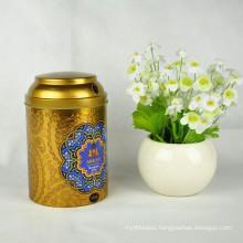 Customized Colourful Round Tea Tin Box, Colourful Tea Tin Box for Packaging