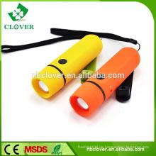 Hochwertige und Helligkeit leistungsstarke LED Handkurbel Dynamo Taschenlampe