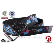 Graffiti letters webbing belt cool children belts