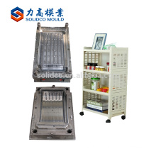 plastic drawer storage box mould, injection mould, stackable storage box mould