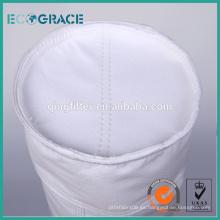 Filtro de la bolsa de la fibra de vidrio de la colección del polvo de la central eléctrica (120 * 3600)