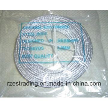 7 * 7 hochwertigen verzinkten Stahldraht Kabel