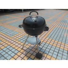 Черное барбекю на открытом воздухе Камадо Гриль