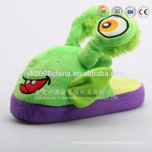 2015 Nueva felpa de la llegada de la felpa borroso zapatilla del dormitorio del flip-flop