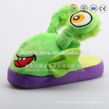 2015 New arrival plush womens fuzzy flip flop bedroom slipper